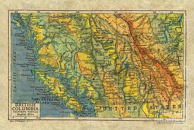 British Columbia 1906 Original by Lisa Middleton