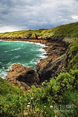Brittany Coast Print by Elena Elisseeva