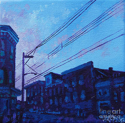 Broad And Front Print by Michael Ciccotello