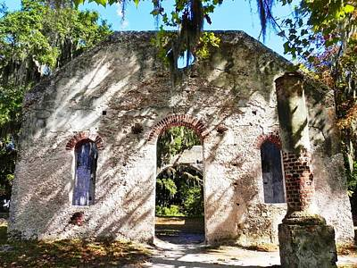 Chapel Of Ease Photograph - Broad Daylight At The Chapel Of Ease by Patricia Greer