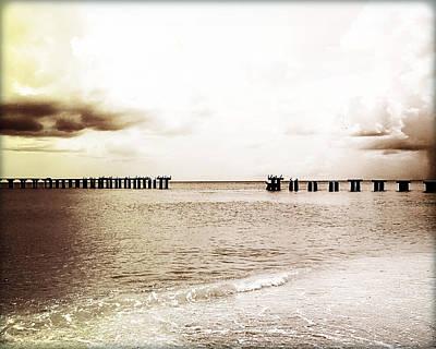 Broken Bridge II Original by Chris Andruskiewicz