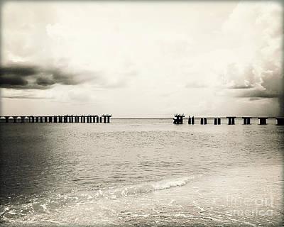 Broken Bridge V Original by Chris Andruskiewicz