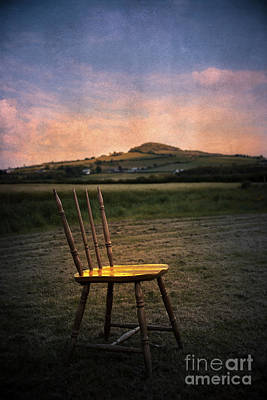 Outdoor Still Life Photograph - Broken Chair by Svetlana Sewell