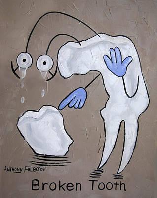 Broken Tooth Original by Anthony Falbo