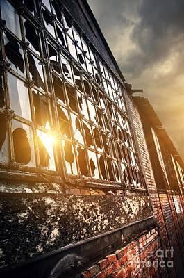 Slums Photograph - Broken Windows by Carlos Caetano