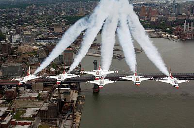 Airplane Photograph - Bronx Birds by Ricky Barnard