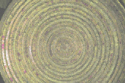 Bronze Gold Ripples Original by ARTography by Pamela Smale Williams