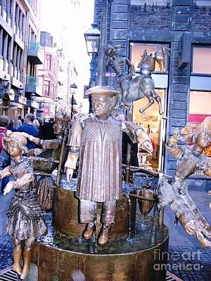 Bronze Digital Art - Bronze Sculpture Aachen Germany by Anthony Morretta