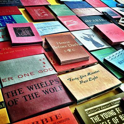 Book Title Digital Art - Brooklyn Books by Natasha Marco