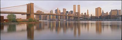 On Location Photograph - Brooklyn Bridge Manhattan New York City by Panoramic Images
