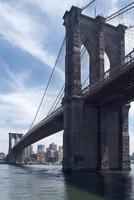 Brooklyn Bridge Digital Art - Brooklyn Bridge by Mike McGlothlen