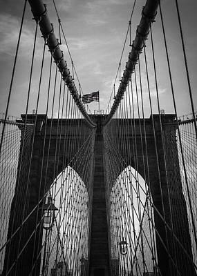 New York Photograph - Brooklyn Bridge by Nicklas Gustafsson