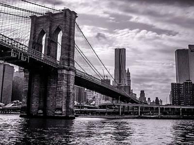 Brooklyn Bridge Print by Wilson Carvalho