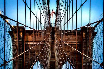 Brooklyn Perspective Print by Az Jackson