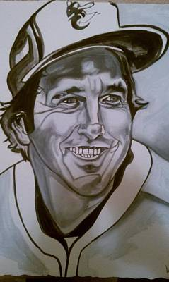 Cal Ripken Painting - Brooksy by Lynde Washington