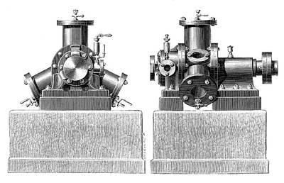 Brotherhood Photograph - Brotherhood Steam Engine by Science Photo Library