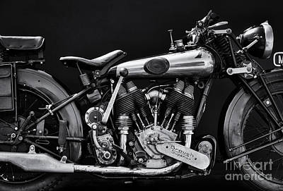 Motorbike Photograph - Brough Superior by Tim Gainey