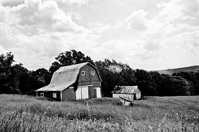 Brown County Barn II Print by Off The Beaten Path Photography - Andrew Alexander