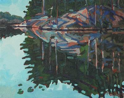 Brown Island Greens Original by Phil Chadwick
