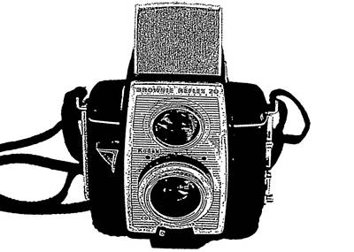 Brownie Reflex Camera 2 Print by Charlette Miller