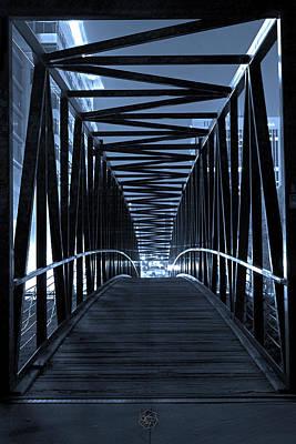 Brown's Island Bridge Print by Brian Archer