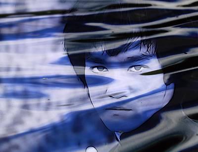 Hong Kong Mixed Media - Bruce Lee Be Like Water by Dan Sproul