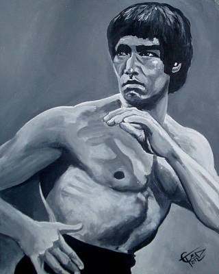 Bruce Lee Original by Tom Carlton