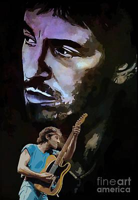 Bruce Springsteen. Original by Andrzej Szczerski
