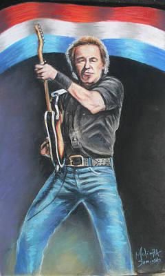 Bruce Springsteen  Original by Melinda Saminski