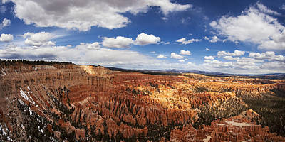 Landscape Photograph - Bryce Canyon Amphitheatre by Andrew Soundarajan