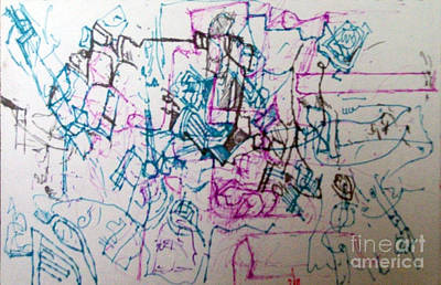 Tzaddik Digital Art - bSeter Elyon 13 by David Baruch Wolk