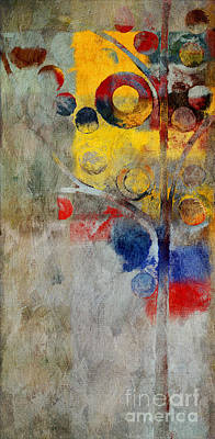Nature Abstract Painting - Bubble Tree - Rs55 by Variance Collections