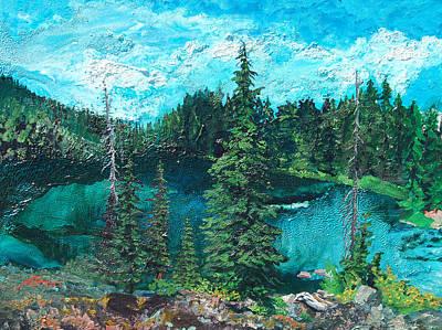 Buck Lake Print by Joseph Demaree