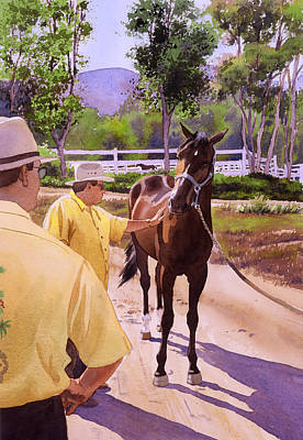 Buckets Of Money Honey Print by Mary Helmreich
