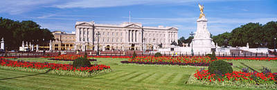 Memorial Garden Photograph - Buckingham Palace, London, England by Panoramic Images