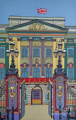 Buckingham Palace Print by Nicky Leigh