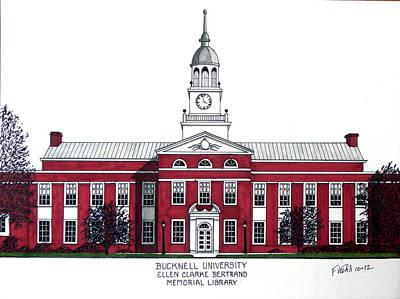 Bucknell University Print by Frederic Kohli