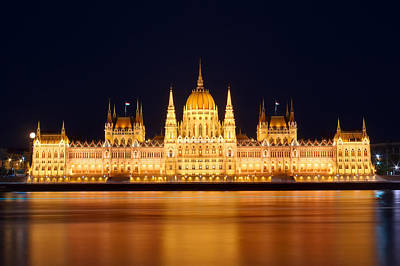 Budapest Sightseeing Tours Photograph - Budapest Parliament by Ioan Panaite