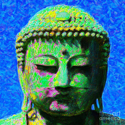 Buddha 20130130p0 Print by Wingsdomain Art and Photography