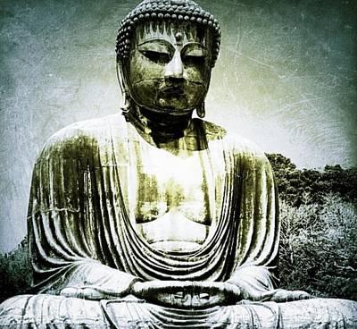 Cdkirven Mixed Media - Buddha by CD Kirven