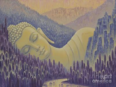Inner Light Painting - Buddha Is Everything by Yuliya Glavnaya