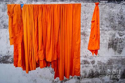 Buddha - Karmic Clean Print by Dean Harte