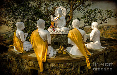 Buddha Lessons Print by Adrian Evans