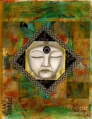 Buddha Mind Print by Nancy TeWinkel Lauren