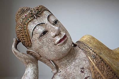 Buddha Reclining Print by Rick Hart