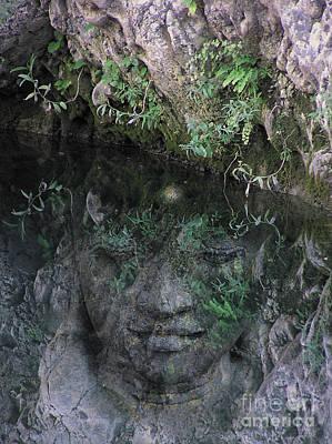 Yogananda Photograph - Buddha - Reflection Ojai by Valerie Freeman