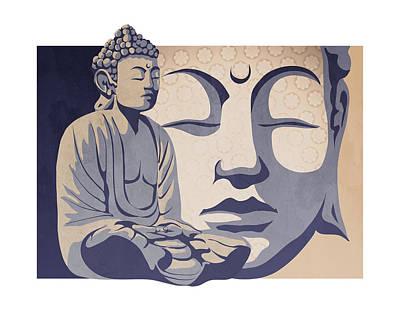 Buddha Print by Sassan Filsoof