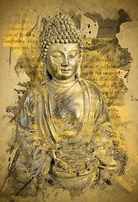 Sangha Photograph - Buddha The Noble Truth by Ray Van Gundy