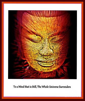 Buddhas Mind IIi Print by Susanne Van Hulst