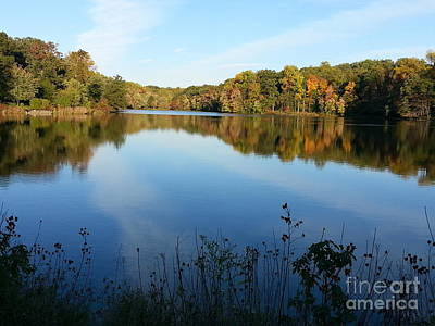 Buddy Attick Lake Park Print by Emmy Marie Vickers